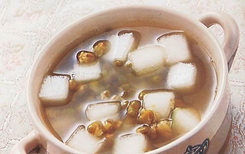冬瓜绿豆汤的做法