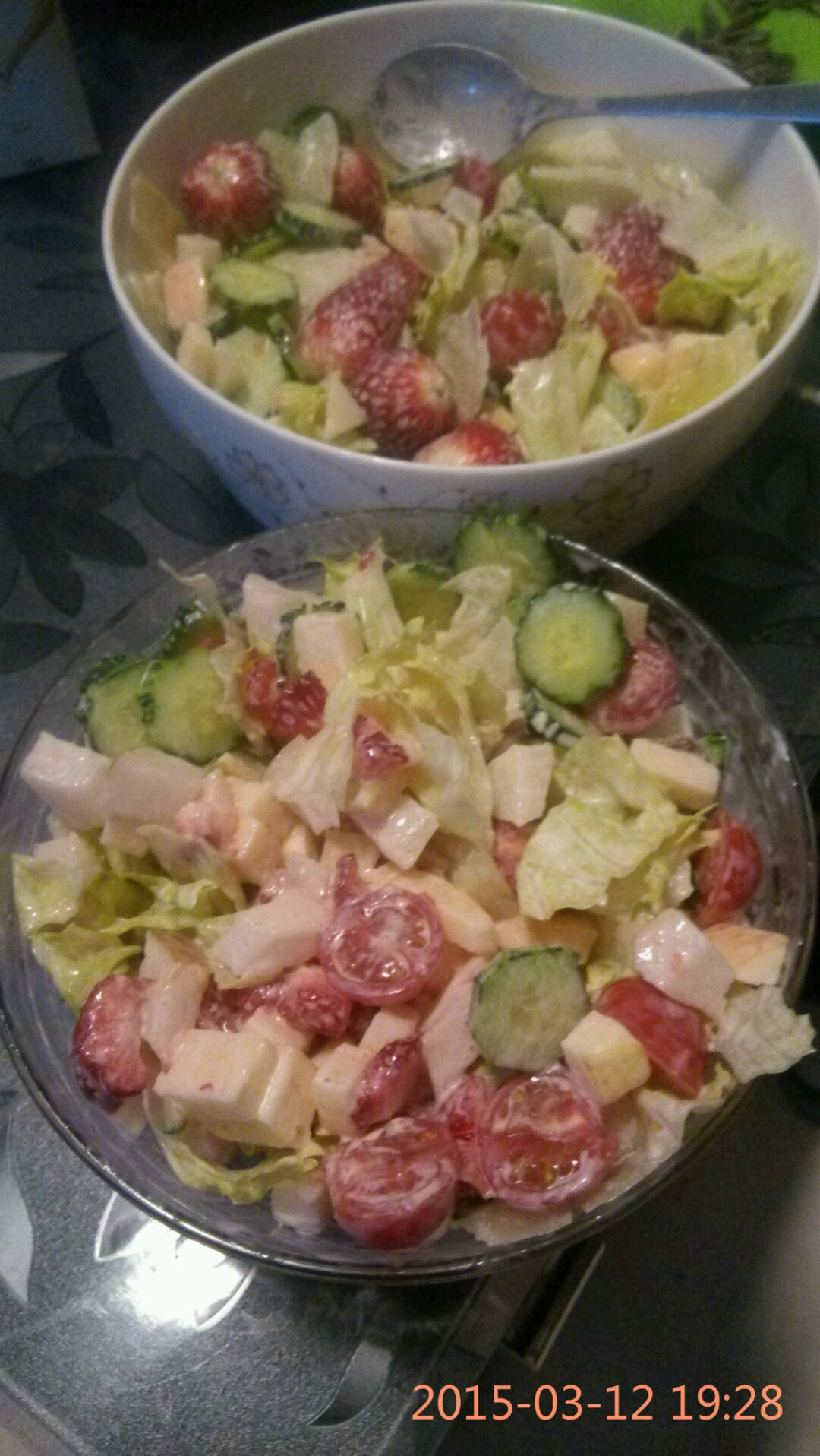 减肥期间晚餐吃蔬菜水果沙拉可以吗