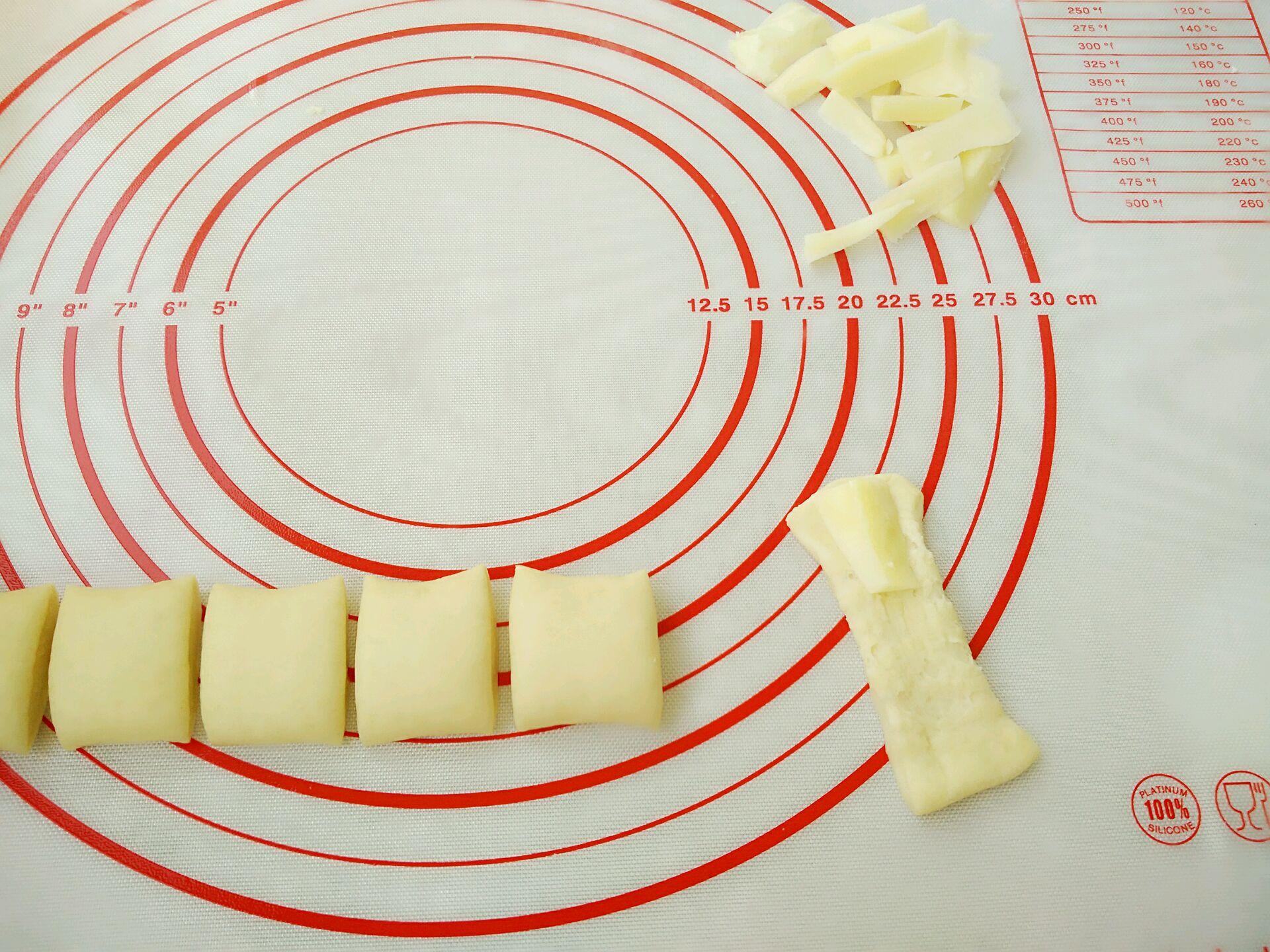 芝士卷边基围虾披萨的做法图解8