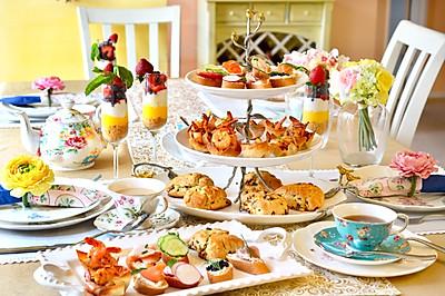 美丽简约的英式下午茶--上篇
