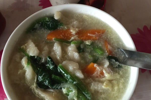 疙瘩汤的做法_【图解】疙瘩汤怎么做如何做好吃_疙瘩