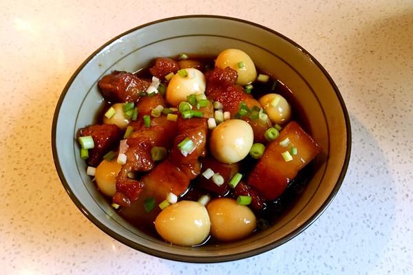 软软糯糯【红薯蛋红烧肉】鹌鹑和皮皮虾可以在一起吃吗图片