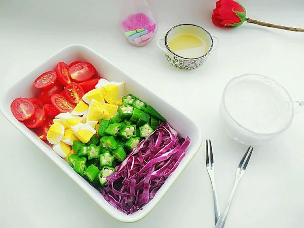 低脂鸡蛋沙拉+香蕉奶昔#博世红钻家厨#