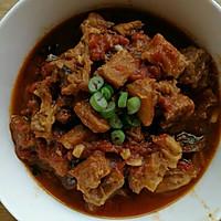 西红柿炖牛腩(家庭下饭菜)