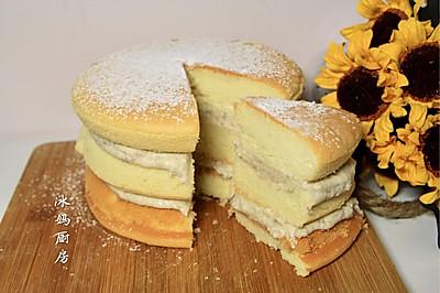 夹心芋头奶油蛋糕