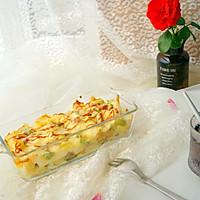 培根焗烤吐司丁