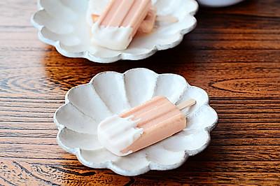 桃子冻顶冰糕