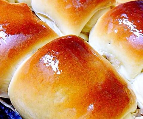 松软橙香芋泥面包的做法