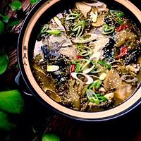 酸菜鲢鱼煲