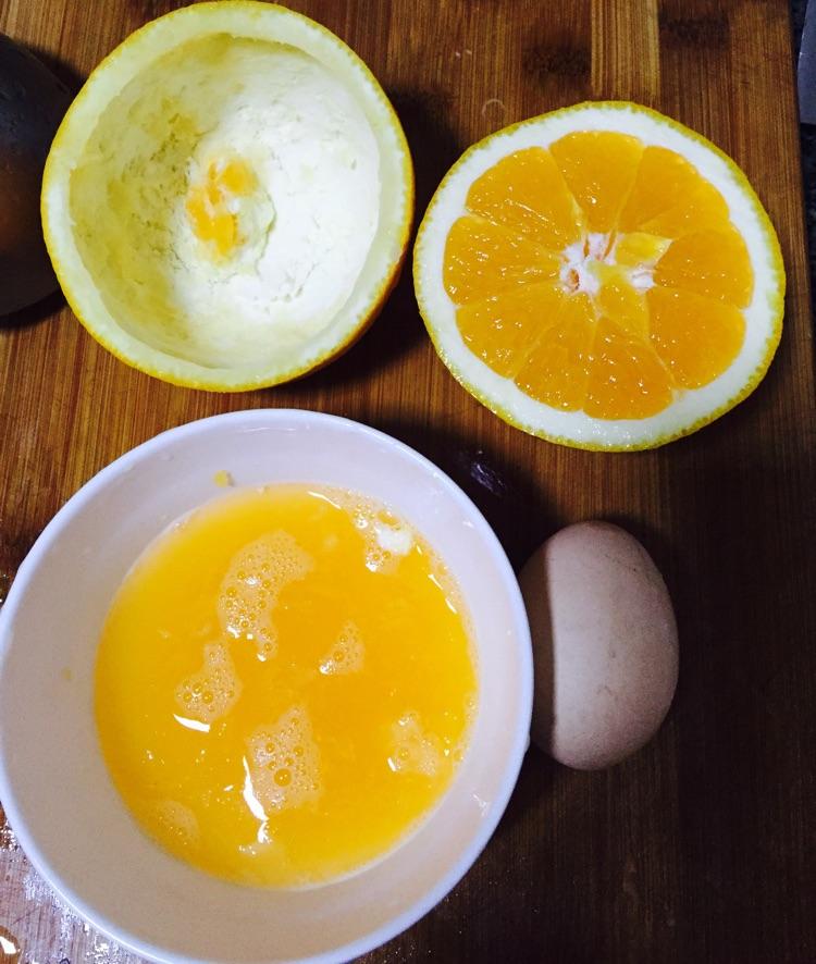 橘子蒸蛋的做法步骤