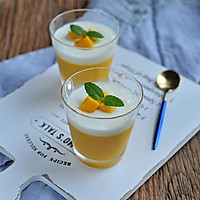 芒果酸奶布丁杯