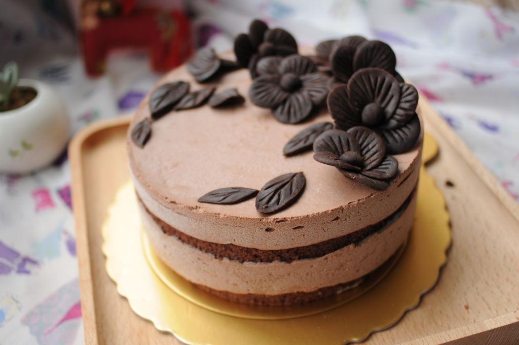 葡萄糖浆c50克 巧克力芭菲蛋糕#长帝烘焙节#的做法步骤 小贴士 1,带a