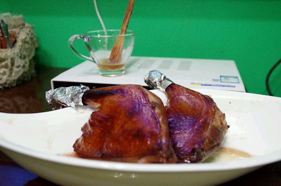 蜜汁脆皮烤鸭腿.的做法步骤