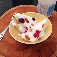 莓果酸奶冰