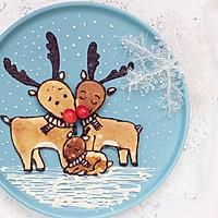 圣诞节麋鹿松饼#柏翠辅食节—烘焙零食#