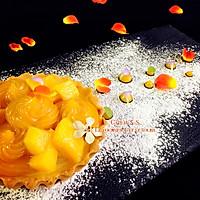 芒果椰子元宵塔#一起吃西餐#的做法图解6