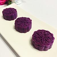简单也可以高颜又营养--紫薯月饼