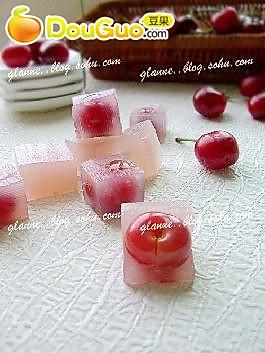 樱桃果肉冻的做法
