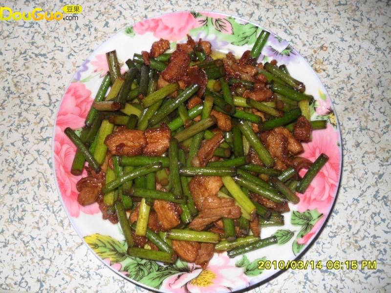 包子蒜苔馅步骤的猪肉红糖图,做好吃做法葛根粉图片