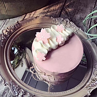日式樱花慕斯蛋糕