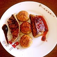 双味法式香煎鹅肝配口蘑