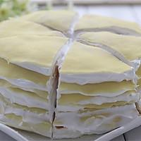 【番茄配方】黄桃千层蛋糕