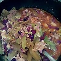 莴苣版水煮肉片