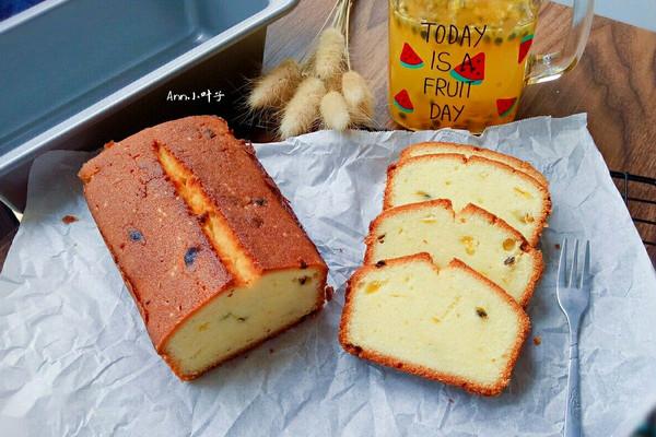 百香果磅蛋糕#让爱不负好时光#的做法