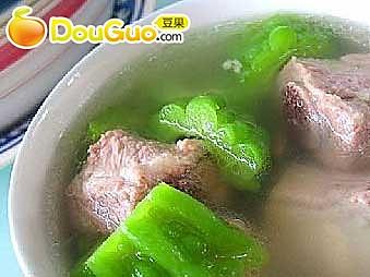 苦瓜排骨汤 的做法