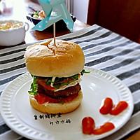 自制猪柳堡(附猪肉饼详细做法)
