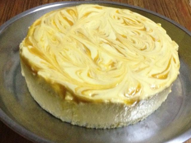 芒果慕斯蛋糕(花纹版)