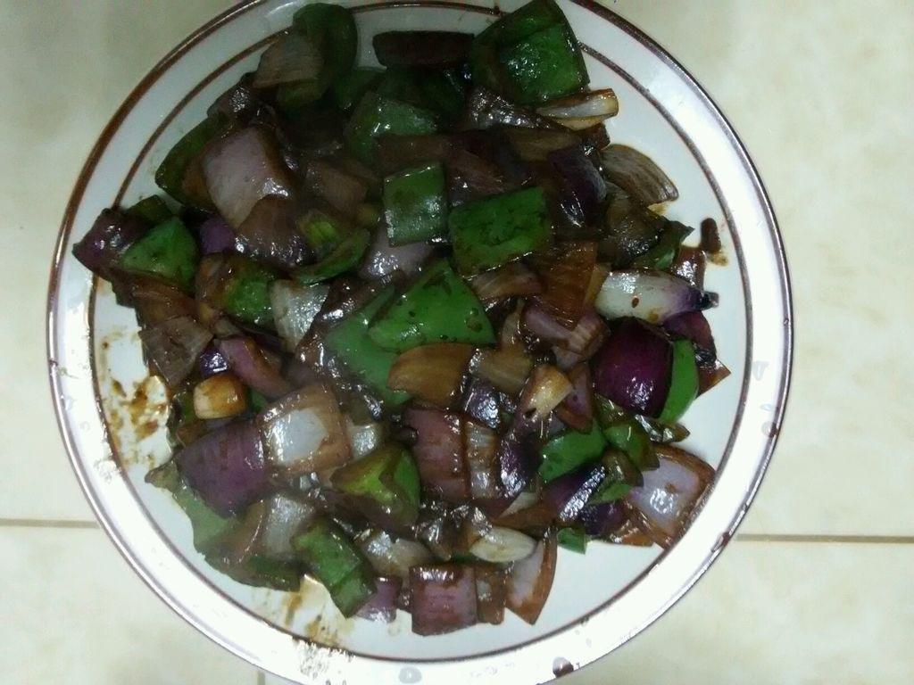 酱爆洋葱翠的做法_【图解】酱爆洋葱翠怎么做好吃_花
