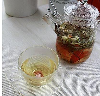 清热降火茶的做法