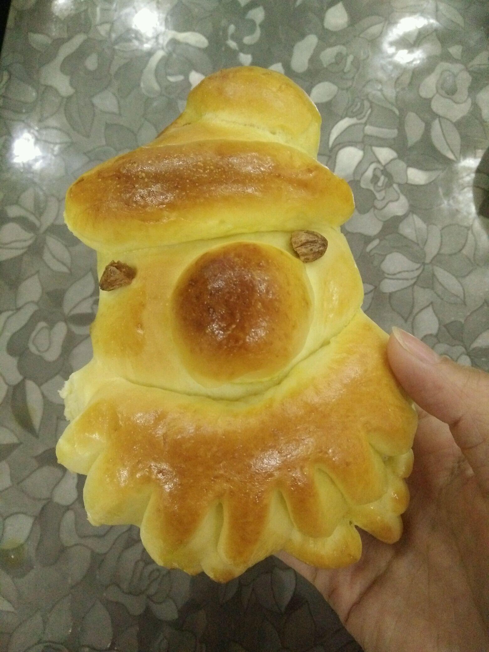 手揉面做面包的做法图解8