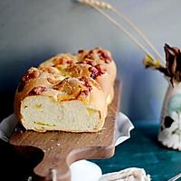 淡奶油中种麻花包#跨界烤箱,探索味来#