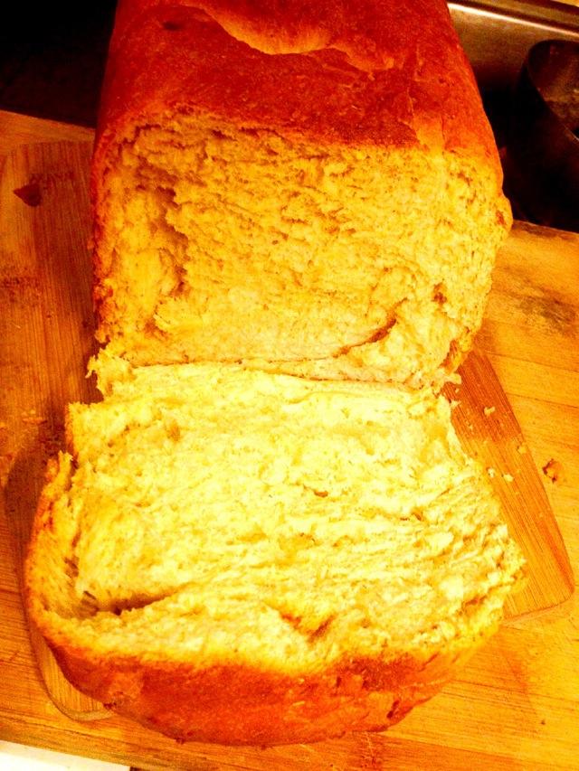 美的面包机全麦面包的做法