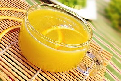 夏日排毒必备饮品---香橙柠檬苦瓜汁