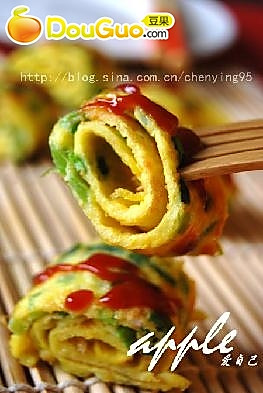 葱煎蛋的做法