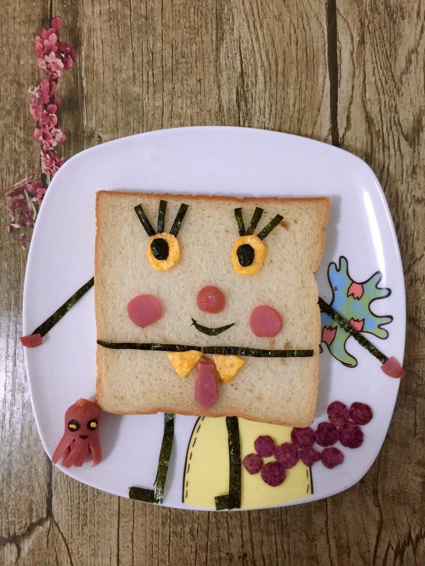 创意儿童早餐的做法图解1