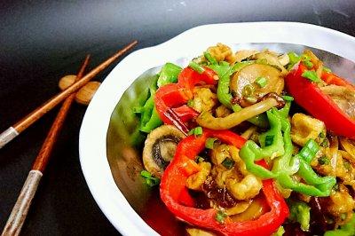 蚝油杏鲍菇口蘑-蜜桃爱营养师私厨-吃素食低卡减肥健身抗癌