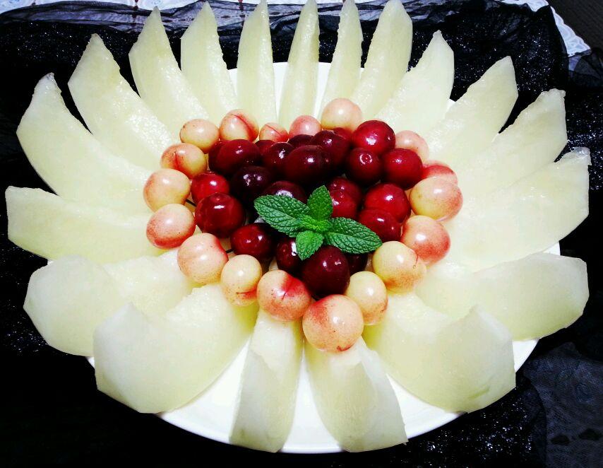 简单漂亮爱心水果拼盘的做法 !(854x662,80k)-水果拼盘的做法 水