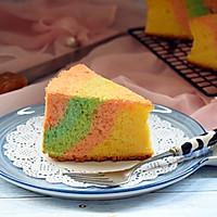 彩虹蛋糕#柏翠辅食节-烘焙零食#