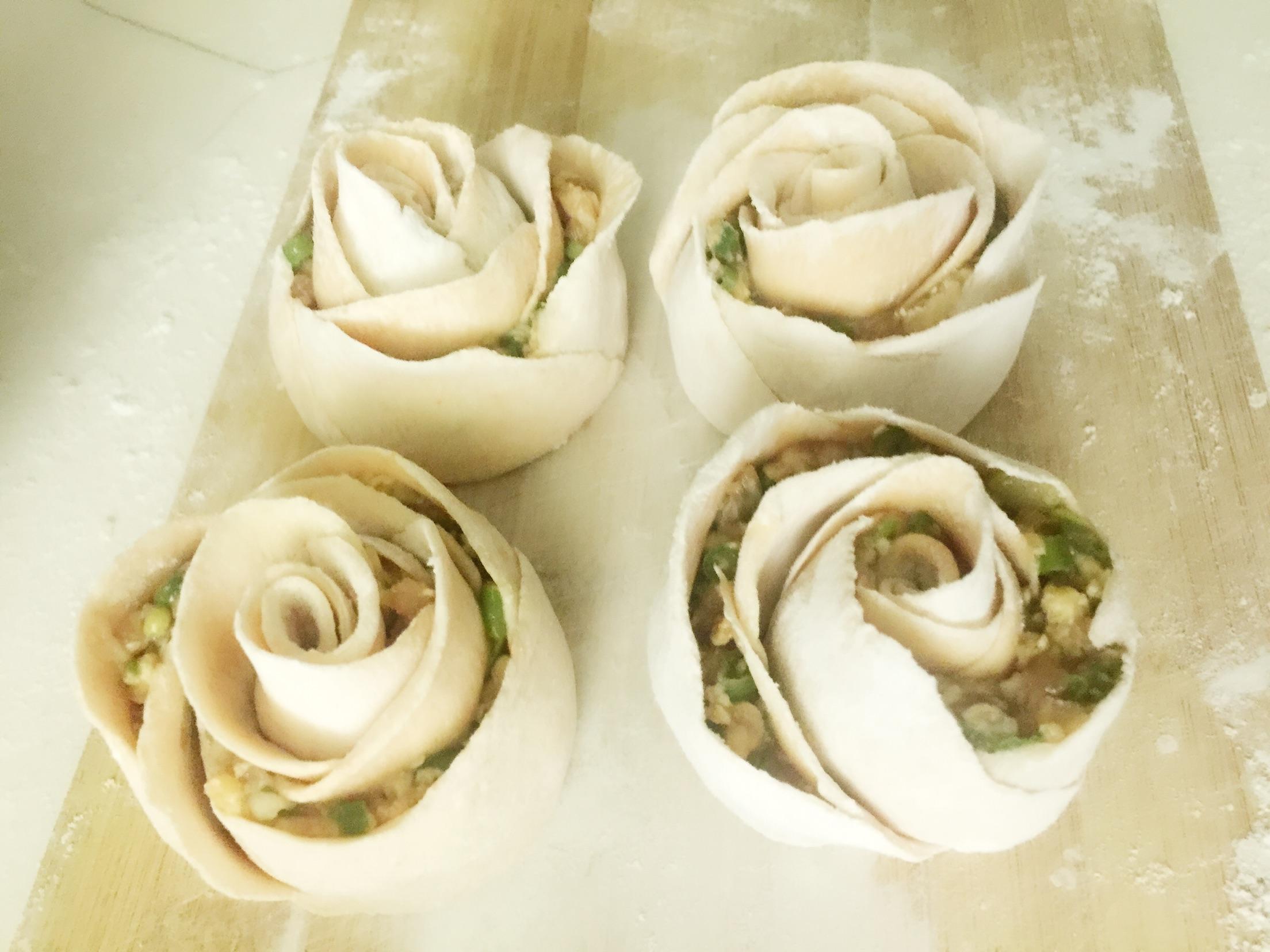 玫瑰饺子的做法_【图解】玫瑰饺子怎么做如何做好吃