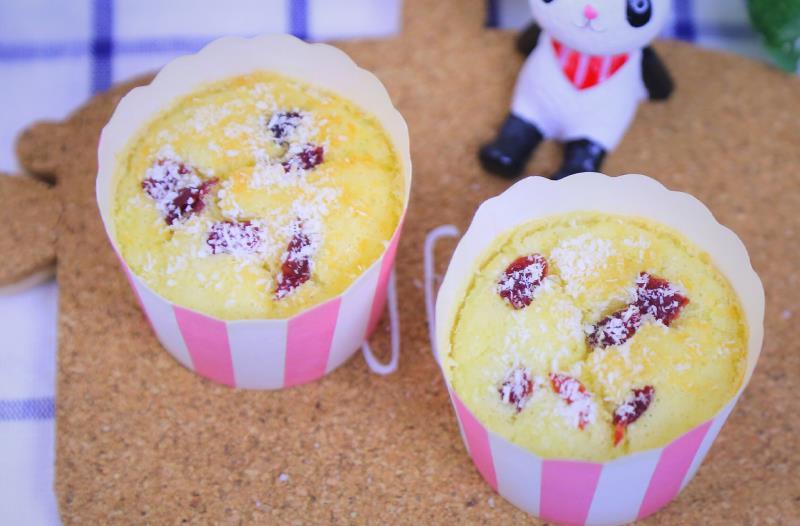 椰蓉马芬蛋糕 宝宝辅食食谱