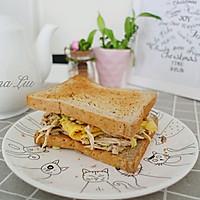 减肥餐 极品三明治