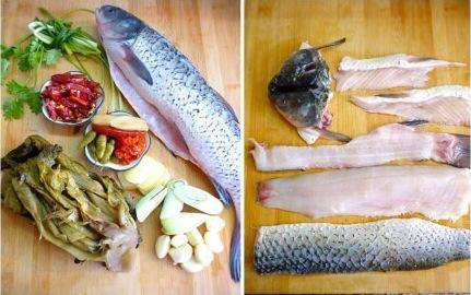 酸菜鱼的做法步骤