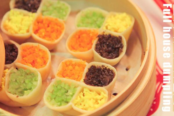 四喜福禄寿财饺「厨娘物语」的做法