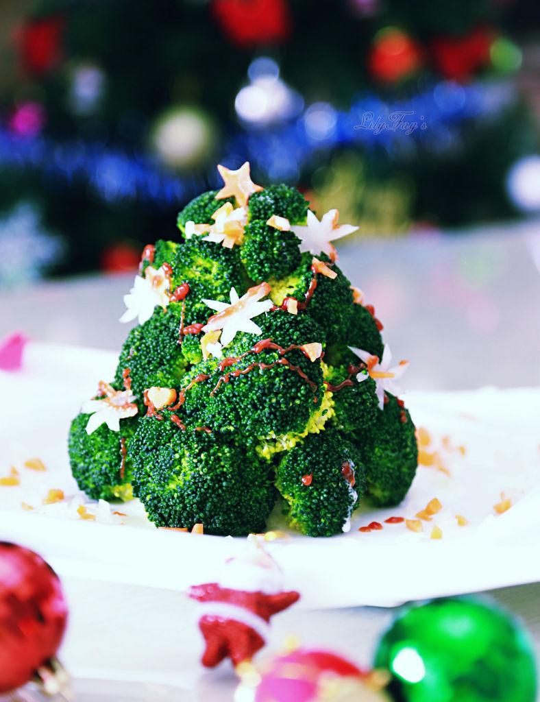 西兰花圣诞树:情怀那点事儿的做法