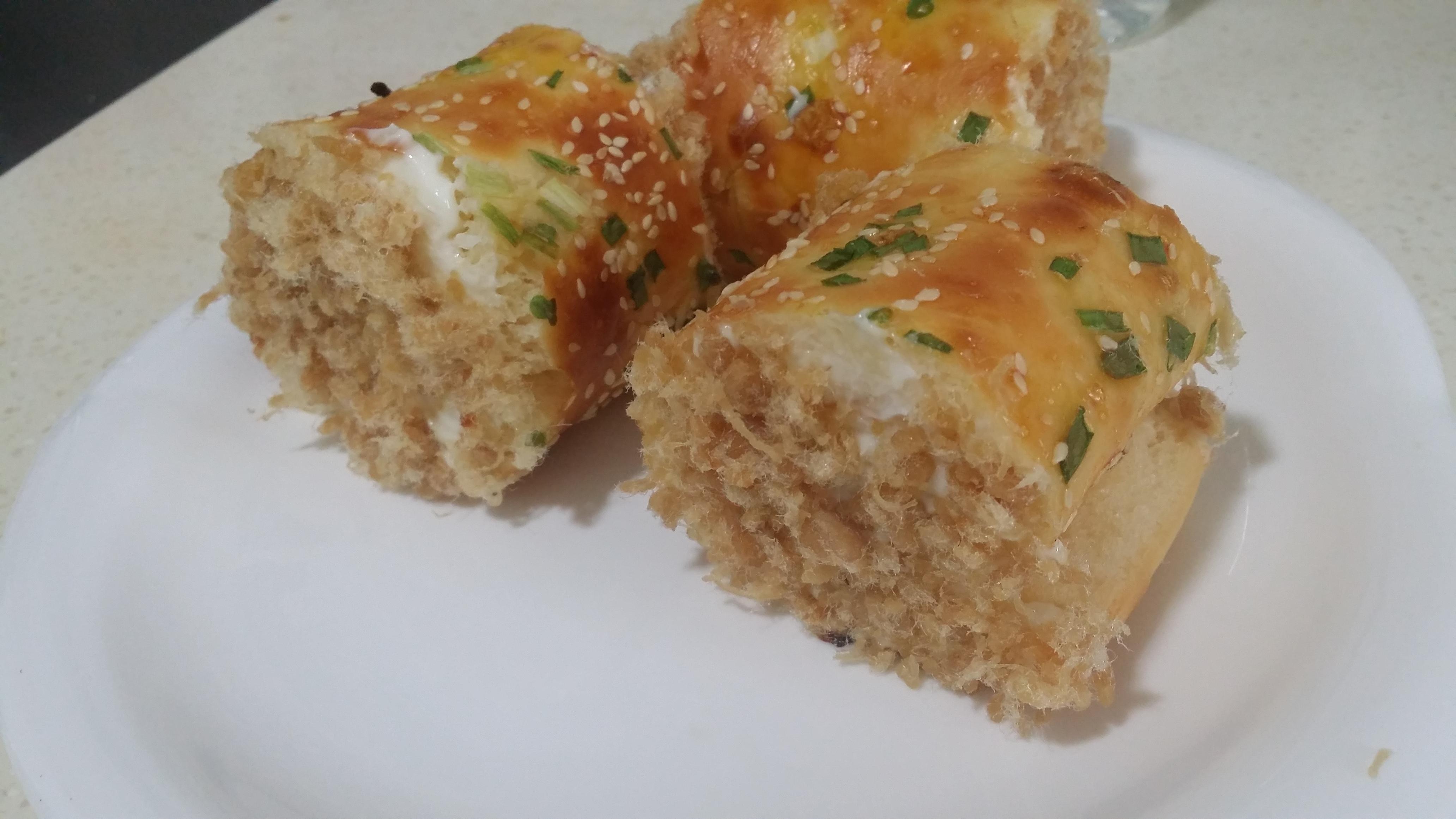肉松面包卷的做法_【图解】肉松面包卷怎么做如何做