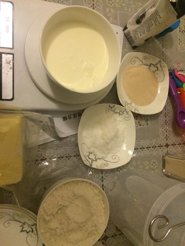 面包机制作手撕面包的做法步骤